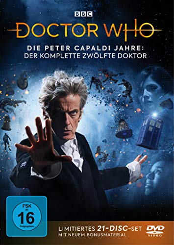 Doctor Who Die Peter Capaldi Jahre: Der komplette 12. Doktor (Limited Edition) (21 DVDs)