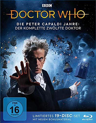 Doctor Who Die Peter Capaldi Jahre: Der komplette 12. Doktor (Limited Edition) [Blu-ray]