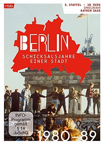 Berlin - Schicksalsjahre einer Stadt: Staffel 3 (1980-1989) (10 DVDs)