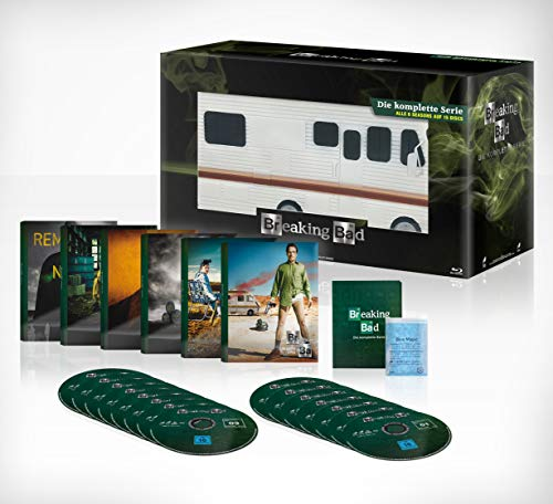 Breaking Bad Die komplette Serie (Limited Edition Meth Mobil mit Bonus Disc) [Blu-ray]