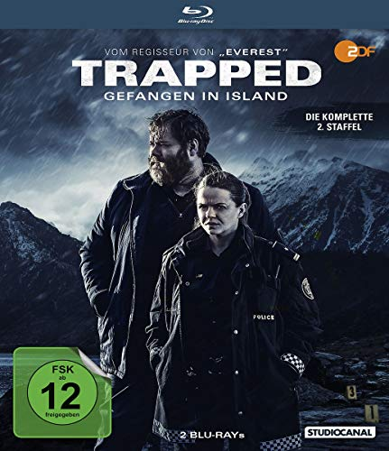 Trapped - Gefangen in Island: Staffel 2 [Blu-ray]