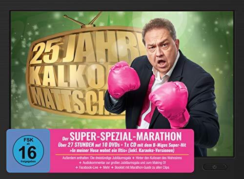 Kalkofes Mattscheibe - 25-Jahre: Der Super-Spezial-Marathon (10 DVDs + Audio-CD)