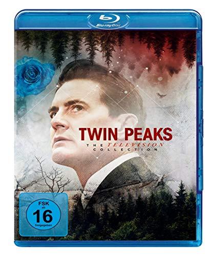Twin Peaks Season 1-3 (TV Collection Boxset) [Blu-ray]