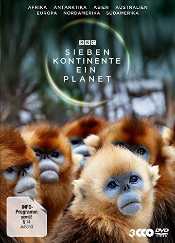 Sieben Kontinente - Ein Planet 3 DVDs