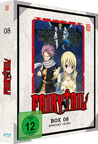 Fairy Tail TV-Serie: Box 8 (Episoden 176-203) [Blu-ray]