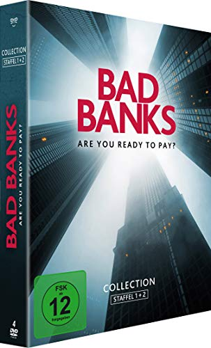 Bad Banks Staffel 1+2 (4 DVDs)