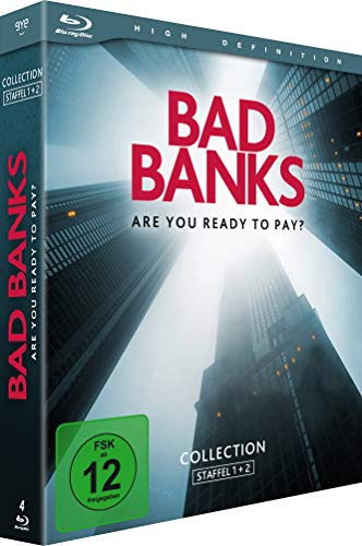 Bad Banks Staffel 1+2 [Blu-ray]