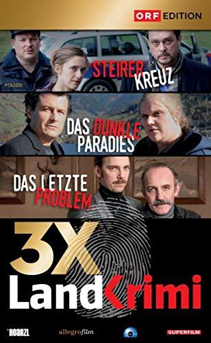 Landkrimi Set 5: Steirerkreuz / Das dunkle Paradies / Das letzte Problem (3 DVDs)