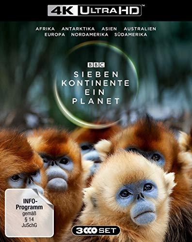 Sieben Kontinente - Ein Planet (4K UHD) [Blu-ray] 4K UHD [Blu-ray]