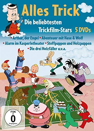 Alles Trick - Die beliebtesten Trickfilm-Stars (5 DVDs)