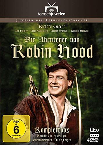 Die Abenteuer von Robin Hood Die ARD-Gesamtedition (4 DVDs)