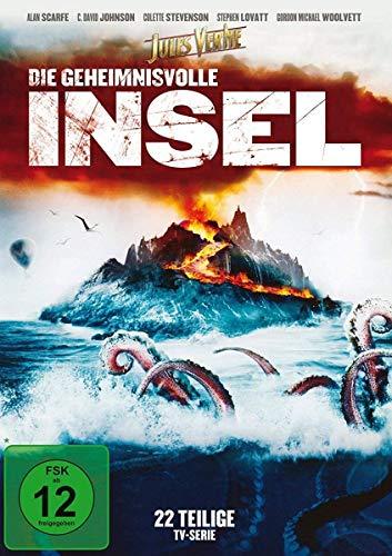 Jules Verne - Geheimnisvolle Insel (4 DVDs)