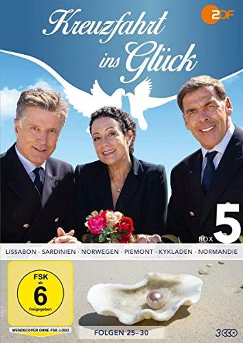 Kreuzfahrt ins Glück - Box 5 (Folge 25-30) (3 DVDs)