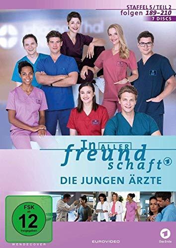 In aller Freundschaft - Die jungen Ärzte: Staffel 5.2 (7 DVDs)