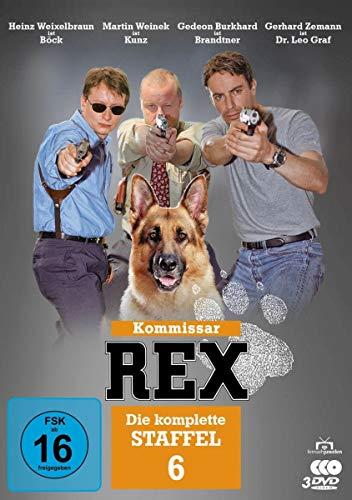 Kommissar Rex Staffel 6 (3 DVDs)