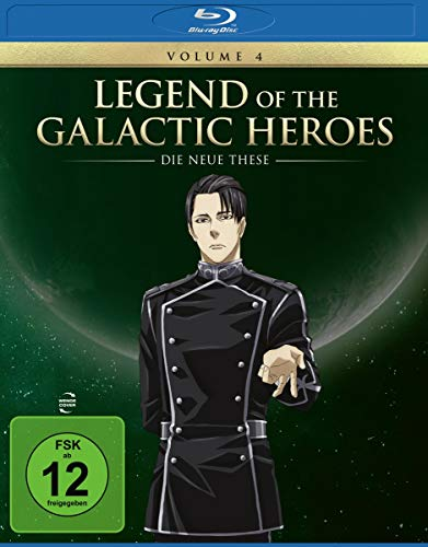 Legend of the Galactic Heroes: Die Neue These Vol. 4 [Blu-ray]