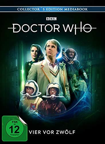 Doctor Who Fünfter Doktor: Vier vor zwölf (Limited Edition Mediabook) [Blu-ray]