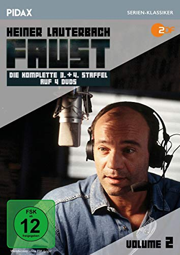 Faust Vol. 2 (Staffel 3+4) (4 DVDs)
