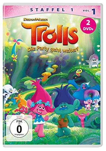Trolls - Die Party geht weiter! Staffel 1, Vol. 1 (2 DVDs)