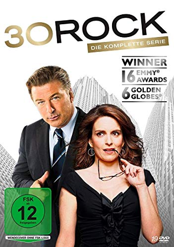 30 Rock Die komplette Serie (19 DVDs)