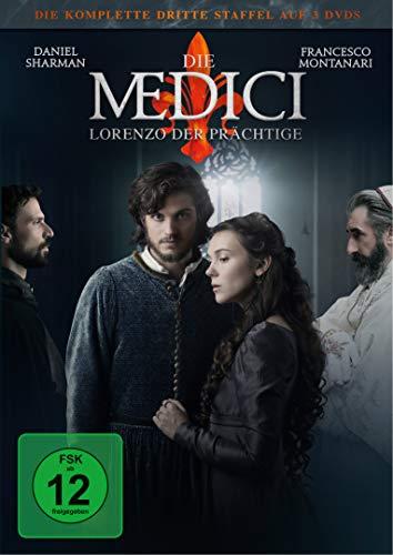 Die Medici Staffel 3: Lorenzo der Prächtige (3 DVDs)