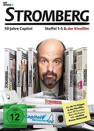 Stromberg - Box 1-5 + Kinofilm (11 DVDs)