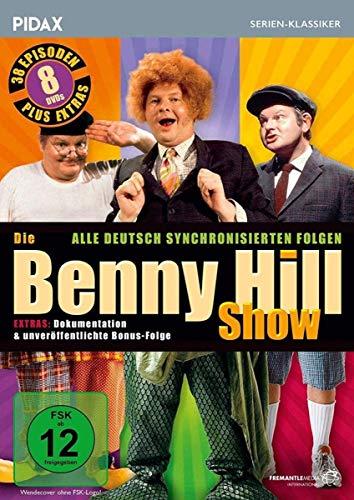 Die Benny Hill Show 8 DVDs