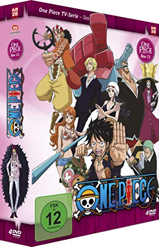 One Piece TV-Serie, Vol.23 (4 DVDs)