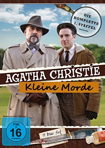 Agatha Christie: Kleine Morde (Mörderische Spiele) Die komplette Serie (11 DVDs)