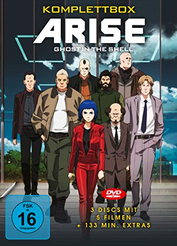 Ghost in the Shell: ARISE Komplettbox (3 DVDs)