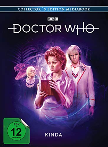 Doctor Who - Fünfter Doktor: Kinda (Limited Edition Mediabook+DVD) [Blu-ray]