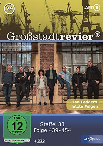 Großstadtrevier Box 29, Staffel 33 (4 DVDs)