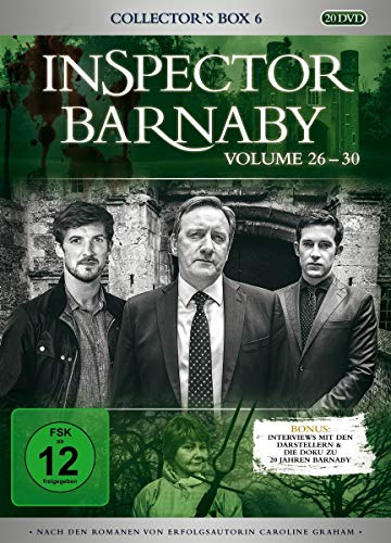 Inspector Barnaby Collector's Box 6, Vol. 26-30 (20 DVDs)