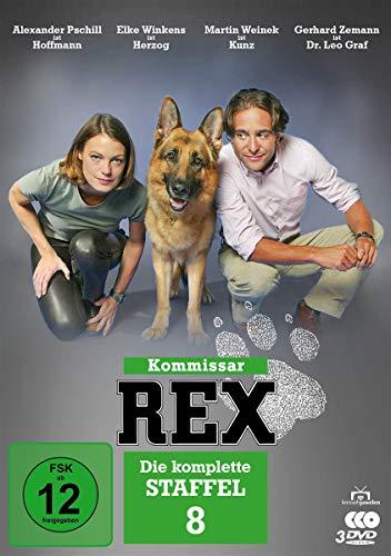 Kommissar Rex - Staffel  8 (3 DVDs)