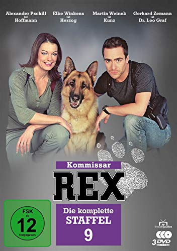 Kommissar Rex - Staffel  9 (3 DVDs) Staffel 9 (3 DVDs)