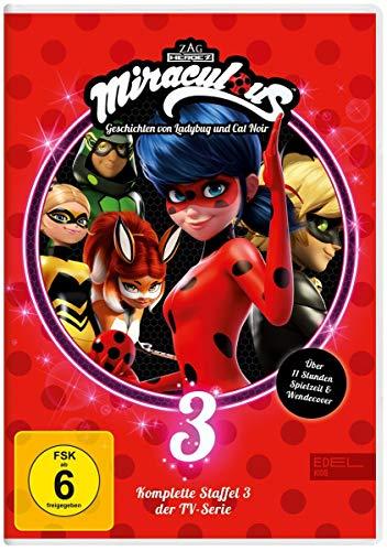 Miraculous - Geschichten von Ladybug und Cat Noir Staffel 3 (3 DVDs)