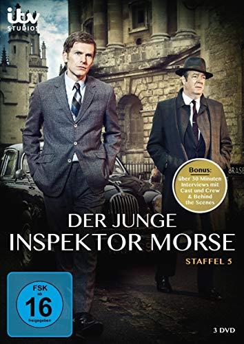 Der junge Inspektor Morse Staffel 5 (3 DVDs)