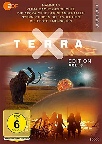 Terra X Edition Vol. 8: Die ersten Menschen / Mammuts - Stars der Eiszeit / Apokalypse der Neandertaler ... (3 DVDs)