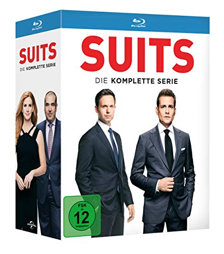 Suits Die komplette Serie [Blu-ray]