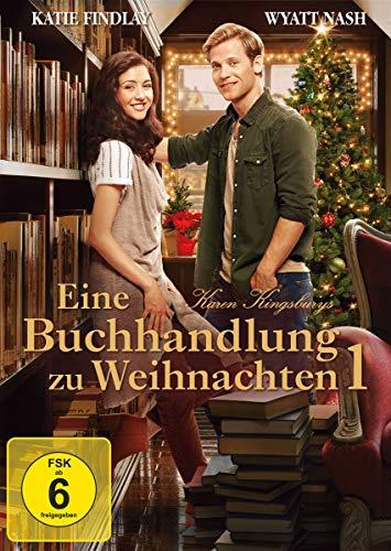Eine Buchhandlung zu Weihnachten