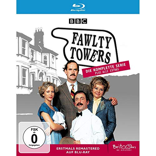 Fawlty Towers Die komplette Serie (Remastered) [Blu-ray]