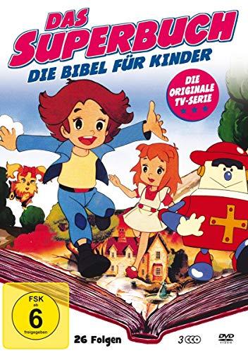Das Superbuch - Original TV Serie (Box mit 26 Folgen) (3 DVDs)