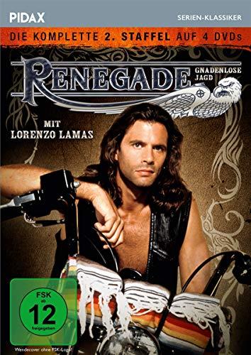 Renegade - Gnadenlose Jagd: Staffel 2 (4 DVDs)