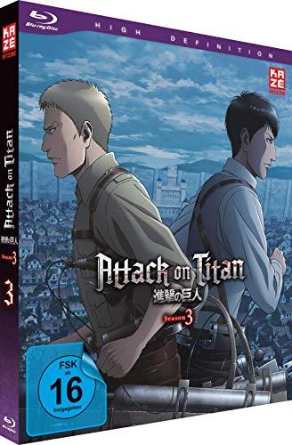 Attack on Titan Staffel 3, Vol. 3 [Blu-ray]
