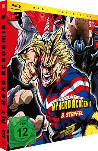 My Hero Academia Staffel 3, Vol. 3 [Blu-ray]