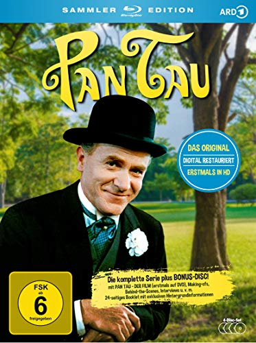 Pan Tau Die komplette Serie (Sammler-Edition, digital restauriert) [Blu-ray]