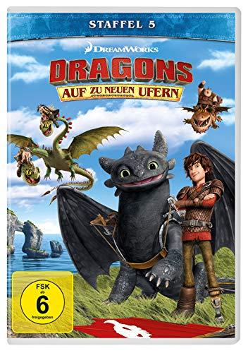 Dragons Auf zu neuen Ufern: Staffel 5 (4 DVDs)