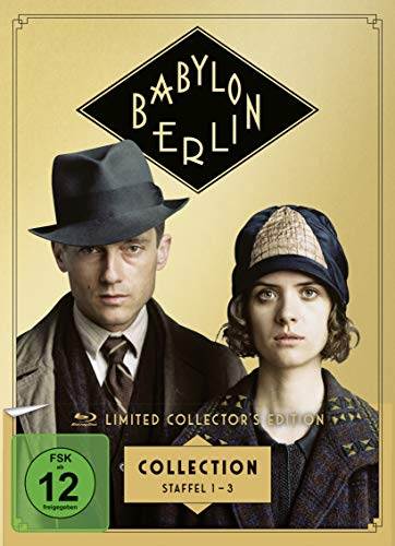 Babylon Berlin Staffel 1-3 (Limited Collector's Edition) (exklusiv bei Amazon.de) [Blu-ray]