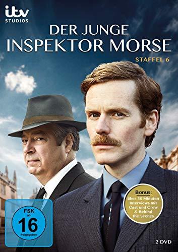 Der junge Inspektor Morse Staffel 6 (2 DVDs)