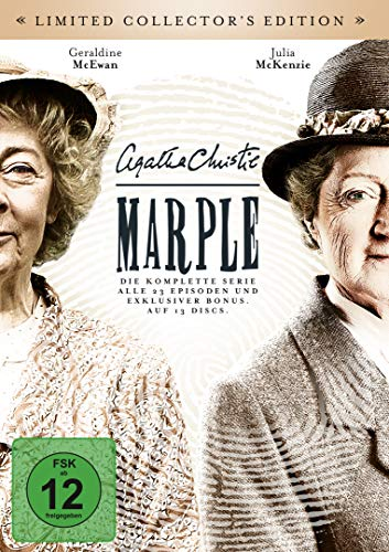 Agatha Christie: Marple Die komplette Serie (Limited Collector's Edition BookPac) (13 DVDs)